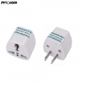 BLY001 Asian 2 Pin Travel Plug Socket Adapter (China Plug 2 pin to Us Adapter)