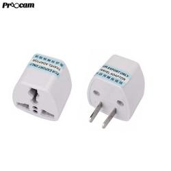 BLY001 Asian 2 Pin Travel Plug Socket Adapter (China Plug 2 pin to Us Adapter)