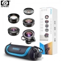 Apexel APL-HD5V2 5 IN 1 Premium Smartphone 4K Lens Kit for Smartphone Iphone, Huawei, Oppo