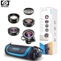 Apexel APL-HD5V2 5 IN 1 Premium Smartphone 4K Lens Kit for Smartphone Iphone, Huawei, Oppo