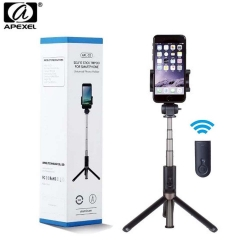 Apexel APL-D3 Universal Selfie Stick Tripod for Smartphone with Bluetooth Controller