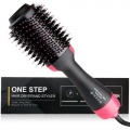 New 3 In 1 Electric Comb Professional Hair Dryer Brush Hair Straightener Curler