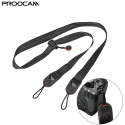 Proocam DCS-10 SLR DSLR Camera Strap Quick-Release Clips Neck Shoulder For Camera