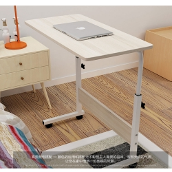 Delly Wood flexbilble Height Adjustable Table Notebook Laptop Computer Beside Table bed living HAT-WD