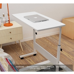 Delly White flexbilble Height Adjustable Table Notebook Laptop Computer Beside Table bed living HAT-WH