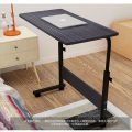 Delly White flexbilble Height Adjustable Table Notebook Laptop Computer Beside Table bed living HAT-BK