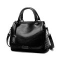 Delly Fashion Women Bag Leather Handbag Luxury Ladies Shoulder Beg BLACK – LHL-BK