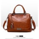 Delly Fashion Women Bag Leather Handbag Luxury Ladies Shoulder Beg Brown – LHL-BR