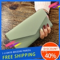 Delly Women Purse Fashion Korean Leather Wallet Long style Purse Zip Card coin Holder – Light Green LWP-LPP