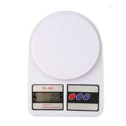 Delly 5KG Professional Electronic Digital Kitchen Food Weight Baking Scale White SF-500