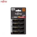 Fujitsu 4pcs AA 2500Mah rechargeable Battery (500cycle time) -HR-3UTC Japan Version
