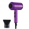 Delly Professional Portable 2000w Hair Dryer Hydration Negative Ion High Power Xl-6666P- Purple