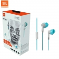 JBL Inspire 300 In-Ear Sport Headphones Blue Gray by Harman US Sweat proof for Smartphone