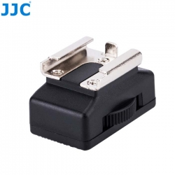 JJC MSA-9 Professional Cold Shoe Mount Male 1/4 To Female 20 threaded socket adapter For Canon 580EX & Nikon SB910 & SB900