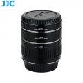 JJC AET-CS(II) Automatic Extension Tube Lens 12/20/36 Auto Focus for Camera Lenses Canon EOS Body EF EF-S Mount