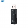 JJC CR-SDMSD1 Card Reader fits SD (SDHC) and Micro SD Memory cards
