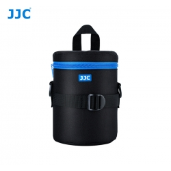 JJC DLP-3II Water Resistant Deluxe Lens Pouch with Shoulder Strap fits Lens Size below 80 x 170mm