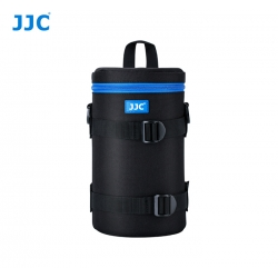 JJC DLP-6IIXL Water Resistant Deluxe Lens Pouch with Shoulder Strap fits Lens Size below 125 X 235mm