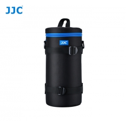 JJC DLP-7II Water Resistant Deluxe Lens Pouch with Shoulder Strap fits Lens Size below 124 x 310mm