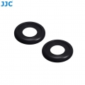 JJC EF-XPRO2 2Pcs Soft Silicone Rubber Eyecup Eyepiece Viewfinder for Fujifilm X-Pro2 XPro2 Digital Camera