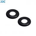 JJC EF-XPRO2 2Pcs Soft Silicone Rubber Eyecup Eyepiece Viewfinder for Fujifilm X-Pro2 XPro2 Digital Camera