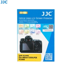 JC GSP-P1000 Ultra-Thin 9H 2.5D Tempered Glass Clear LCD Screen Protector for Nikon COOLPIX P1000