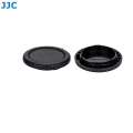 JJC L-RCRF Canon RF mount camera Body Rear Lens Cap Cover Set