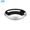 JJ LH-43LX100 Lens Hood for Panasonic Lumix DMC-LX100 and Leica D-Lux (Silver)
