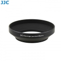 JJC LN-62W 62mm Screw-in Mount Standard Aluminum Metal Lens Hood for Wide-Angle Lenses