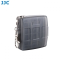 JJC MC-11D Memory Card Holder case fit for 4SD 4MicroSD (GREY)