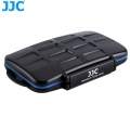 JJC MC-ST16 Professional Water-Resistant Memory Card Case Protector for 8 SD + 8 MSD Cards Storage