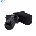 JJC OC-F3BK Black Neoprene Mirrorless Camera Case for Fujifilm XA-2 Xa-3 XT-10