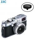 JJC SRB-BK Black Convex Metal Soft Release Button for Fujifilm Leica Cameras (Black)