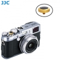 JJC SRB-DGD Black Convex Metal Soft Release Button for Fujifilm Leica Cameras (Gold Black)