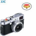 JJC SRB-DGD Red Convex Metal Soft Release Button for Fujifilm Leica Cameras (Gold Red )