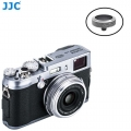 JJC SRB-GR Black Convex Metal Soft Release Button for Fujifilm Leica Cameras (Gray Black)