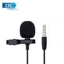 JJC SGM-28 Lavalier Microphone Clip Mic for 3.5mm Mobile Phone Apple Samsung Vivo oppo Voice Record