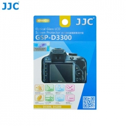 JJC GSP-D3300 Tempered Glass Camera Screen Protector For Nikon D3300