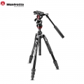 Manfrotto MVKBFR-LIVE Befree Live Video Tripod Kit with Case for Camera video record live