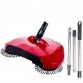 Delly Automatic Smart Hand 3in1 Push Magic Broom Sweeper Mop Home House Red colour BR-11R