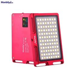 Manbily Mini LED Video Camera Light Dimmable 96 LED Photographic 3500-5700K Lighting Lamp for DSLR Canon Nikon Pentax ( MFL-03)