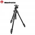 Manfrotto 290 Light Aluminum Tripod with Ball Head Portable Travel Camera MK290LTA3-BH