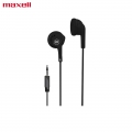 Maxell EB-95 Earphone Stereo Earbuds for Samsung, Oppo, Laptop -Black