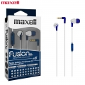 Maxell Fusion+ Ear Buds with Built-in earphone Microphone Damask for Mobile Phone