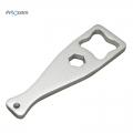 Proocam PRO-J122A-SL Aluminium Metal Key Thumb Screw Wrench for GoPro Equipment -Silver
