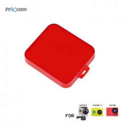 Proocam PRO-F221 Light Motion Night Under Sea waterproof case Filter for SJ5000 (Red)