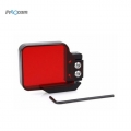 Proocam PRO-F123 Light Motion Night Under Sea Filter for Gopro Hero 3 SJCAM SJ4000 (Red)