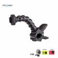Proocam Pro-F059C Jaws Flex Clamp with seven joint stand for Gopro Hero , SJCAM , MIYI action camera