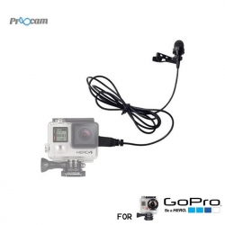 Proocam Pro-F102 Mini USB Microphone Professional Design for Gopro Hero3/3+/4