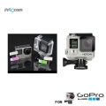 Proocam Pro-F137 Best Material Lens and LCD Screen Protector for Gopro Hero 4 3+